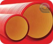 Дкс трубы двустенные для электропроводки цена